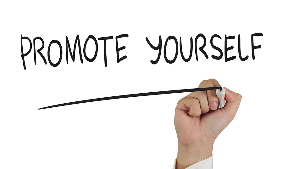 self promote