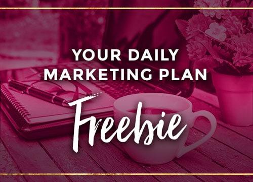 Your daily marketing freebie